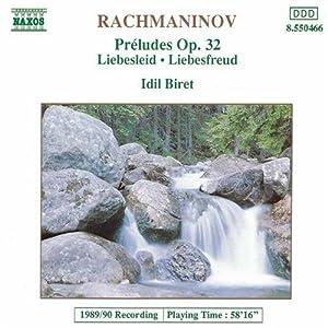 Preludes Op 32/Liebesfreud/Lie