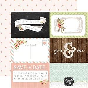 Amazon.com: Carta Bella Rustic Elegance 4x6 Journal Cards Wedding