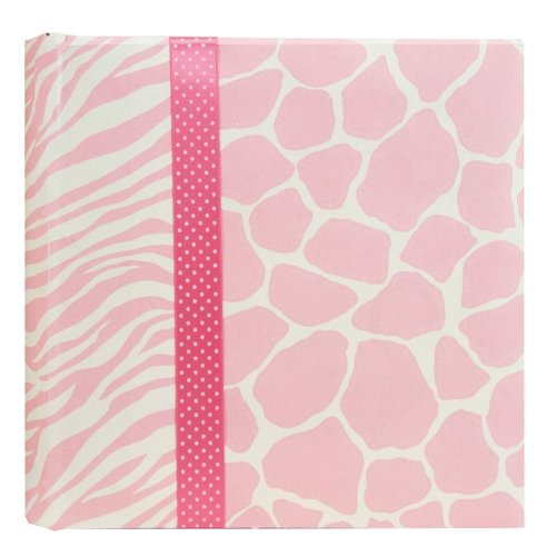 Pepper Pot Large Photo Album, Giraffe Girl - 1