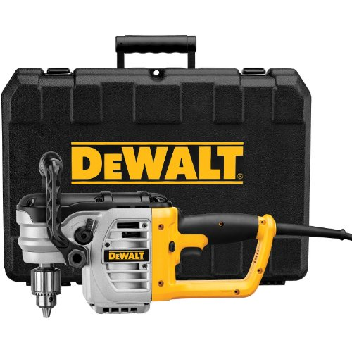 DEWALT DWD460K 11 Amp 1/2-Inch Right Angle Stud and Joist Drill with Bind-Up Control Kit (Dewalt Angle Drill Kit compare prices)