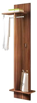 Flurgarderobe Kleiderständer massiv Mahagoni Farbe brown Walnuss