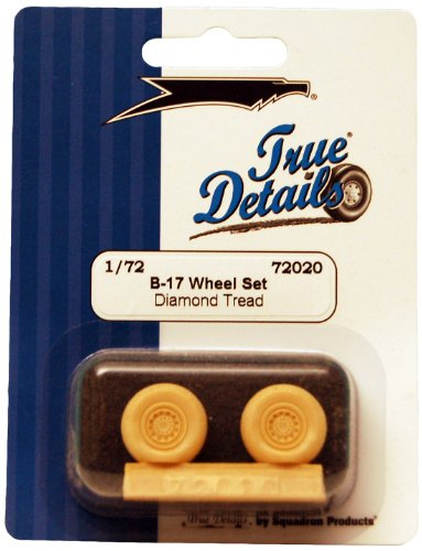 True Details  B-17 Flying Fortress Wheel Set