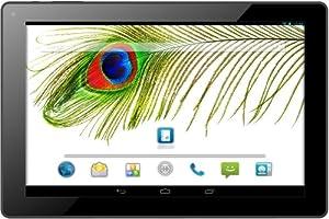 Odys Visio 25,7 cm (10,1 Zoll) Tablet-PC (Quad Core Prozessor (4x1,3GHz), UMTS (3 G), GPS / AGPS, 1 GB RAM, 16 GB HDD, Android 4.4.x, HD-IPS Display (1280 x 800), Bluetooth 4.0, OTA) schwarz/aluminium