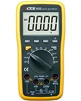 VICTOR 86B 3 3/4 Multimètre numérique Auto Gamme voltmètre ampèremètre ohmmètre Testeur Mesureur électrique LCD écran Interface USB