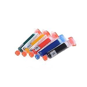 10ml Mechanic Blue UV Solder Mask PCB BGA Prevent Corrosive Repairing Paint (Color: blue)