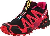 Salomon Women's Speedcross 3 Trail Running Shoe,Black/Dynamic/Fancy Pink,8 M US