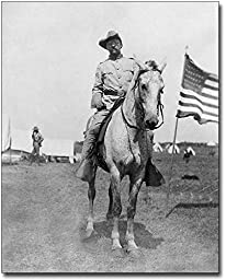 Colonel Theodore Roosevelt Rough Riders 8x10 Silver Halide Photo Print
