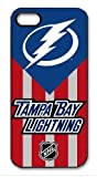 Tampa Bay Lightning Logo NHL HD image case cover for iphone 5 black A Nice Present
