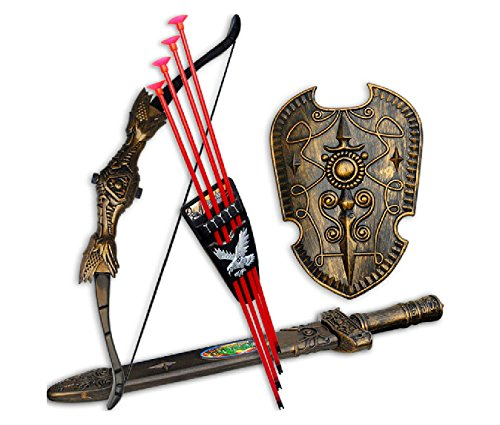 Classic-traditional-toys-creative-children-bows-sword-shield-combination-set-sucker-Childrens-simulation-archery-toysbaby-infant-Play-house-toys-Early-Educational-ToolToys