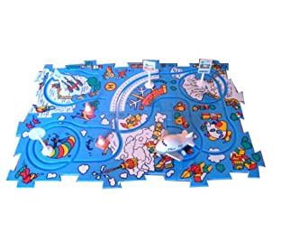 Wind up Puzzle Play Set Airliner