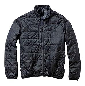 Storm Creek Men's Ivan Quilted Packable Jacket, Coal, 2X