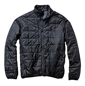 Storm Creek Men's Ivan Quilted Packable Jacket, Coal, 2X