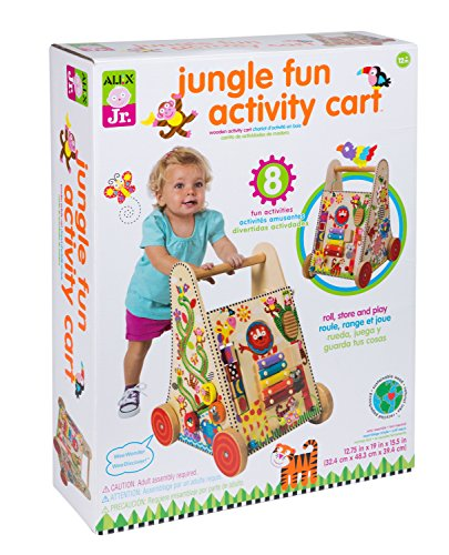 ALEX Toys ALEX Jr. Jungle Fun Activity Cart - 1