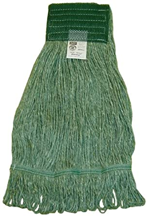 Zephyr Blendup Green 4-Ply Yarn Natural and Synthetic Fiber Blended  Loop Mop Head (Pack of 12)