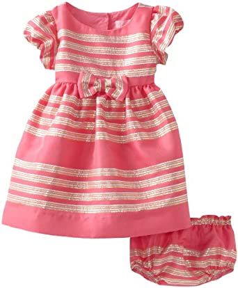 Lilly Pulitzer Baby-Girls Linney Dress, Hotty Pink Glam Metallic 36
