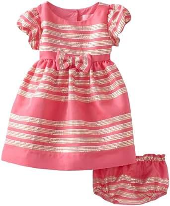 Lilly Pulitzer Baby-Girls Linney Dress, Hotty Pink Glam Metallic 36
