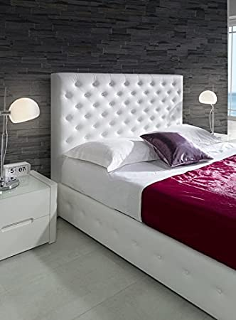 Head Upholstered simil Leather Mac 160Fuchsia