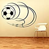 Decal Style Football Wall Sticker Small Size-18*13 Inch