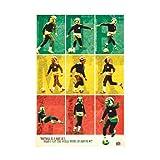 Bob Marley - Poster Football