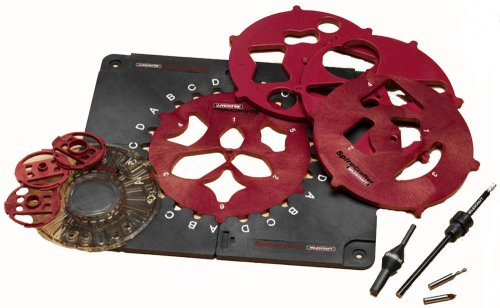 Milescraft 1207 Router Design Inlay Kit
