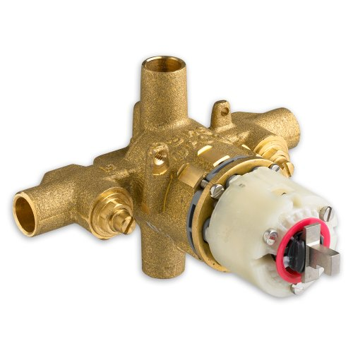 American Standard R120SS Pressure Balance Rough Valve Body Only Direct Sweat Inlets and Outlets with Screwdriver Stops