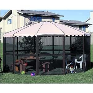 Amazon.com : Casita 14 Foot Round Free Standing Screen House : Outdoor