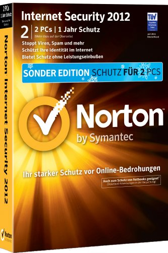 Norton Internet Security 2012 - 2 PCs