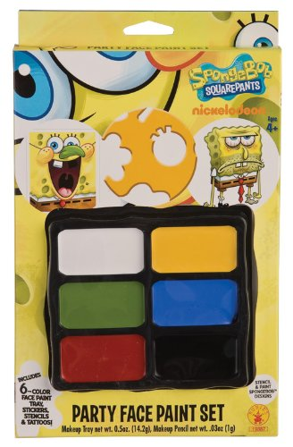 Rubies Spongebob Squarepants Party Face Paint Set - 1