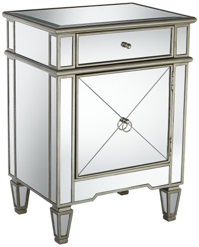 Mackenzie Mirrored Accent Table front-1043760