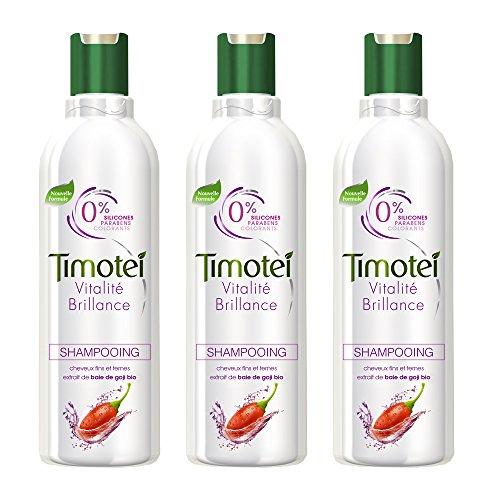 Timotei lucentezza shampoo vitalità 300ml - Set di 3