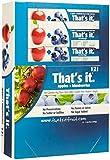 Thats It Fruit Bar Apple & Blueberry 12 Bars per box