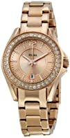 Fossil Womens ES2889 Riley Rose Gold Dial Watch