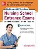 img - for McGraw-Hill's Nursing School Entrance Exams, Second Edition: Strategies + 8 Practice Tests book / textbook / text book