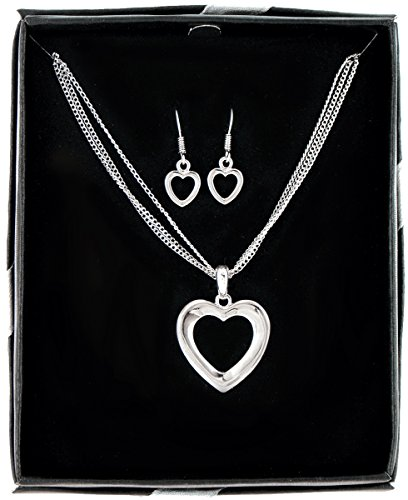 Heart and Soul Necklace and Earring Set - 1