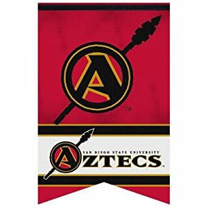 Buy NCAA San Diego State Aztecs 17-by-26 inch Premium Felt Banner by WinCraft