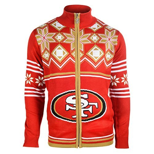 San Francisco 49ers Busy Block Real Ugly Sweater Gnome