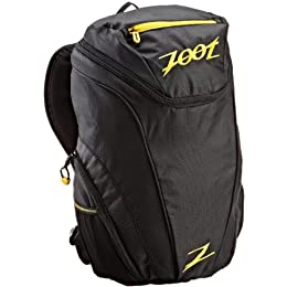 Zoot Sports Performance Sport Pack Transition Bag (Black-Yellow, One Size)