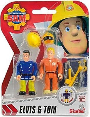 Simba 109251050 - Feuerwehrmann Sam Figuren Doppelpack, 3-sort.