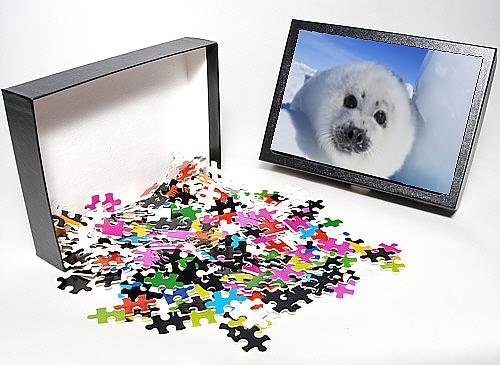 Photo Jigsaw Puzzle Of Harp Seal - Baby front-1051129