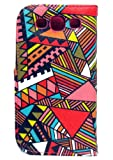 Thinkcase Samsung i9300 Galaxy S3 New tribal Design Premium PU Leather Wallet Case With Card Holder for Samsung i9300 Galaxy S3 III with 016# Thinkcase Stylus Pen
