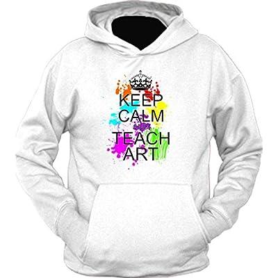 Keep calm and Teach Art Hoodie