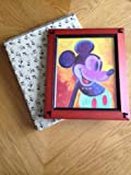 Mickey Mouse Ear Beveled 8x10 Photo Frame