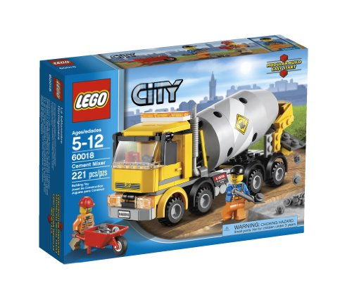LEGO City Cement Mixer 60018 Amazon.com