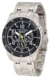 Nautica Men's N14645G Windseeker Classic Enamel Bezel Watch
