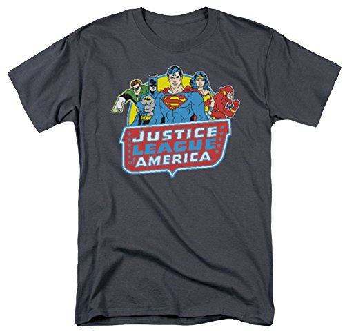 DC Justice League 8 Bit T-Shirt