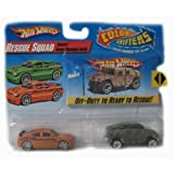 Hot Wheels Color Shifters Cars Rescue Squad With Humvee & Dodge Charger Srt8 Car Set