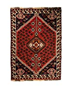 Navaei & Co. Alfombra Persian Shiraz Mecca Rojo/Multicolor 130 x 75 cm