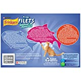 Friskies Wet Cat Food, Prime Filets, Seafood Favorites 3-Flavor Variety Pack,  5.5-Ounce Can, Pack of 24
