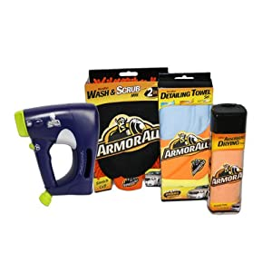 Mr. Clean AutoDry Car Wash Starter Kit & Armorall 5 Piece Car Wash Set