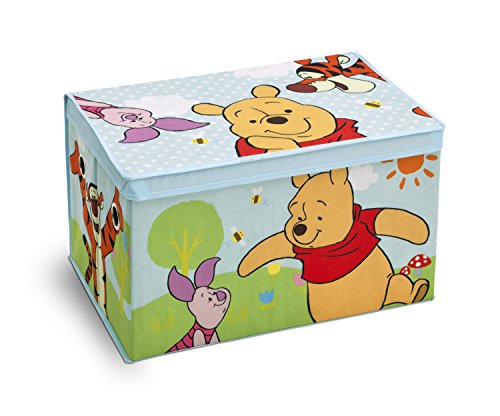 Disney Collapsible Storage Trunk Toy Box Organizer Chest: New Storage Trunk Fabric Toy Box Disney Winnie The Pooh